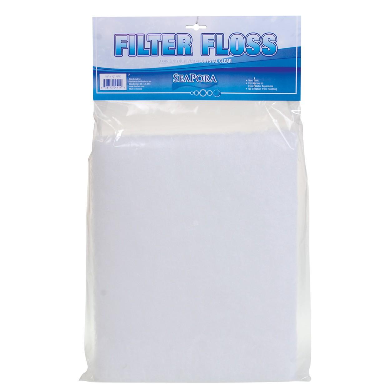 "SeaPora Filter Floss Pad - 10"" x 12"" - 1 pk"