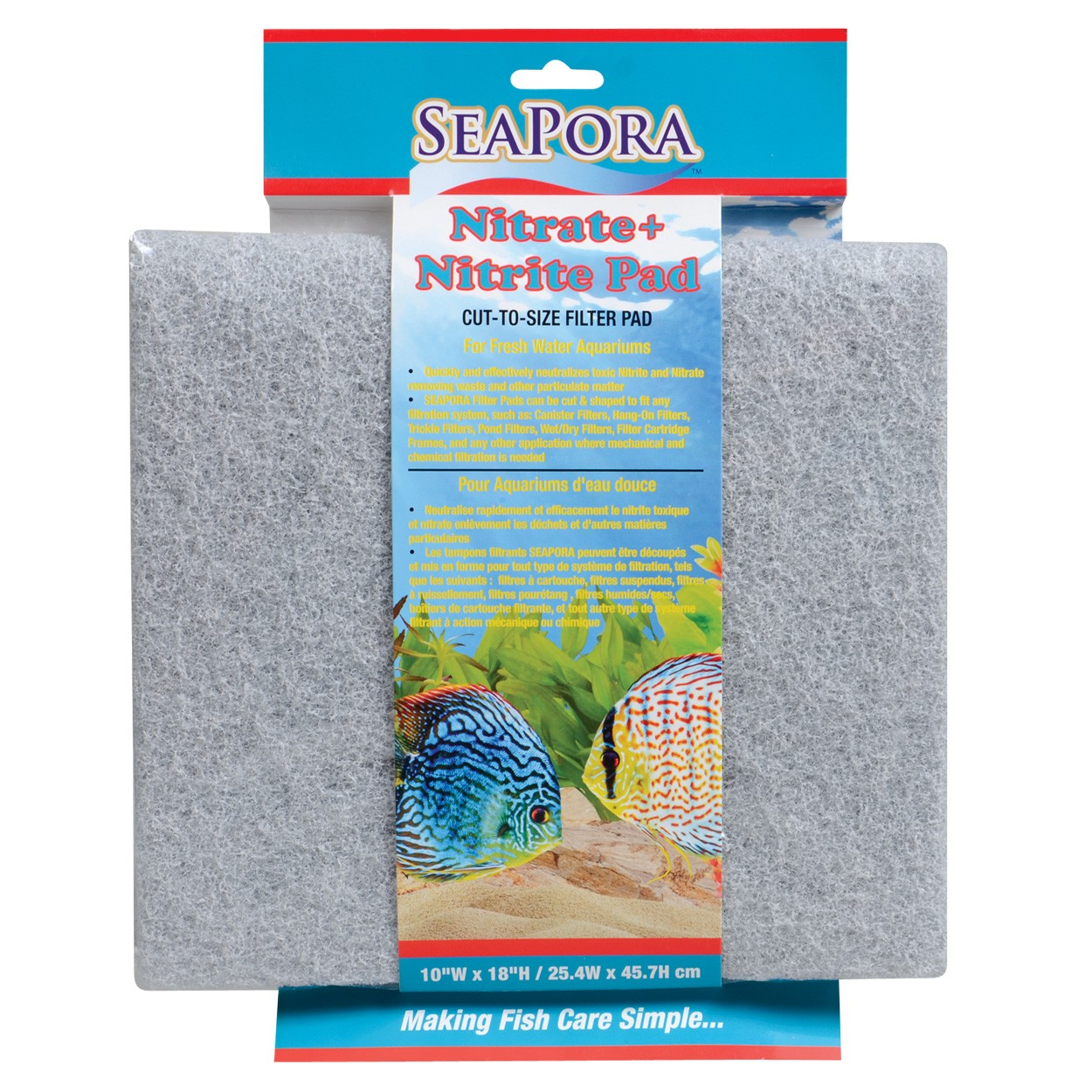 "SeaPora Nitrate + Nitrite Pad - 18"" x 10"""