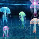 Underwater Treasures Action Jellyfish - Blue - Large