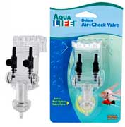 Penn Plax Aqua Life Deluxe Air+Check Valve - 2 Outlets