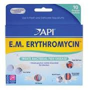 API E.M. Erythromycin Powder Packets - 10 pk