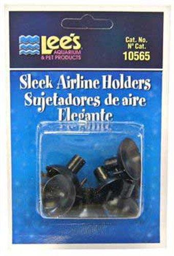 Lee's Sleek Airline Holders - Black - 6 pk