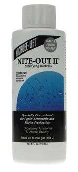 microbe lift aquarium nite out ii 1 gal additives phytoplankton