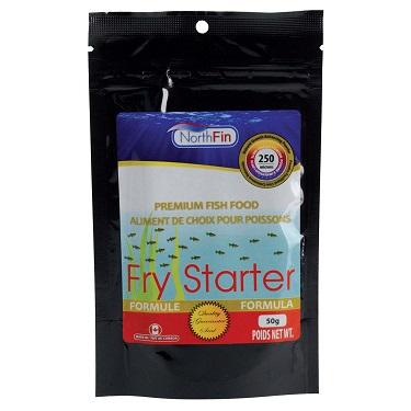 NorthFin Fry Starter Formula - 250 Microns Slow Sinking Powder - 50 g
