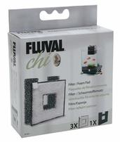Fluval Replacement Foam and Filter Pad Combo Pack for Fluval Chi
