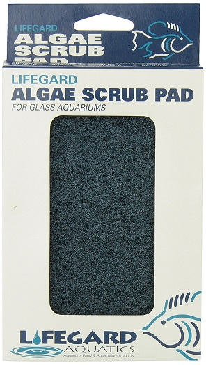Lifegard Aquatics Algae Scrub Pad - For Glass