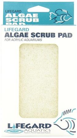 Lifegard Aquatics Algae Scrub Pad - For Acrylic