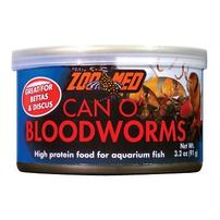Zoo Med Can O' Bloodworms - 3.2 oz