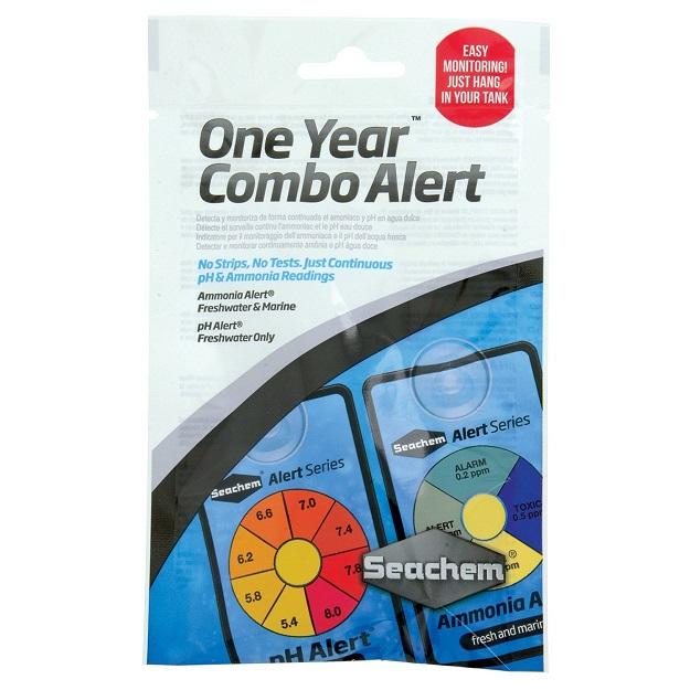 Seachem Alert Combo Pack - 1 Year
