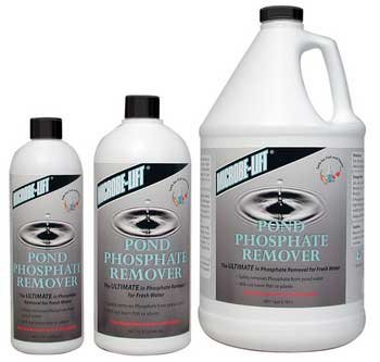 microbe lift freshwater phosphate remover 4 oz additives water