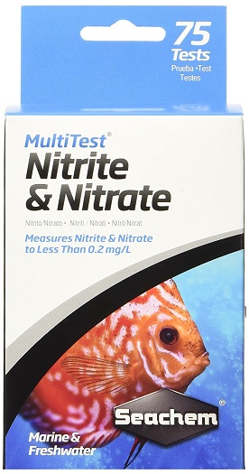 Seachem MultiTest - Nitrite/Nitrate - 75+ Tests