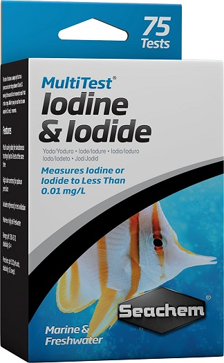 Seachem MultiTest - Iodine/Iodide - 75+ Tests