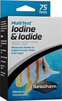 Seachem MultiTest - Iodine/Iodide - 75+ Tests
