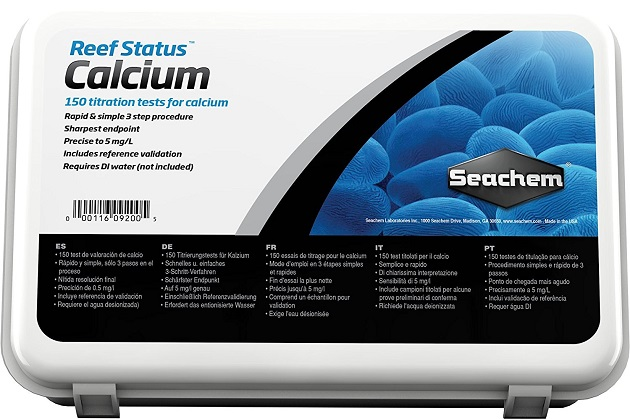 Seachem Reef Status Test Kit - Calcium - 150 Tests