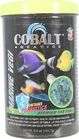 Cobalt Aquatics Marine Vegi Flakes Premium Fish Food - 5 oz