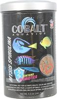 Cobalt Aquatics Mysis Spirulina Flakes Premium Fish Food - 5 oz