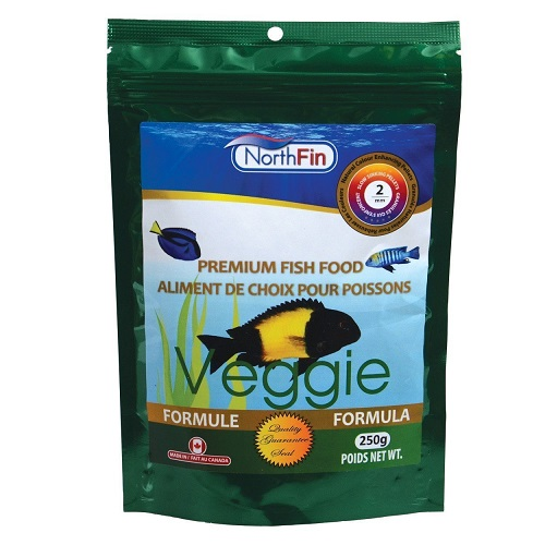 NorthFin Veggie Formula - 2 mm Sinking Pellets - 500 g