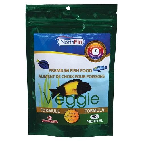 NorthFin Veggie Formula - 3 mm Sinking Pellets - 2.5 kg