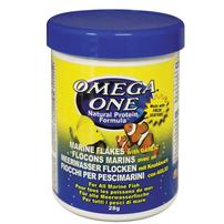 Omega One Marine Flakes with Garlic - 1 oz
