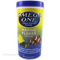 Omega One Marine Flakes with Garlic - 2.2 oz