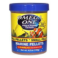 Omega One Marine Pellets with Garlic - Small - 4.5 oz