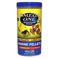 Omega One Marine Pellets with Garlic - Small - 8.25 oz