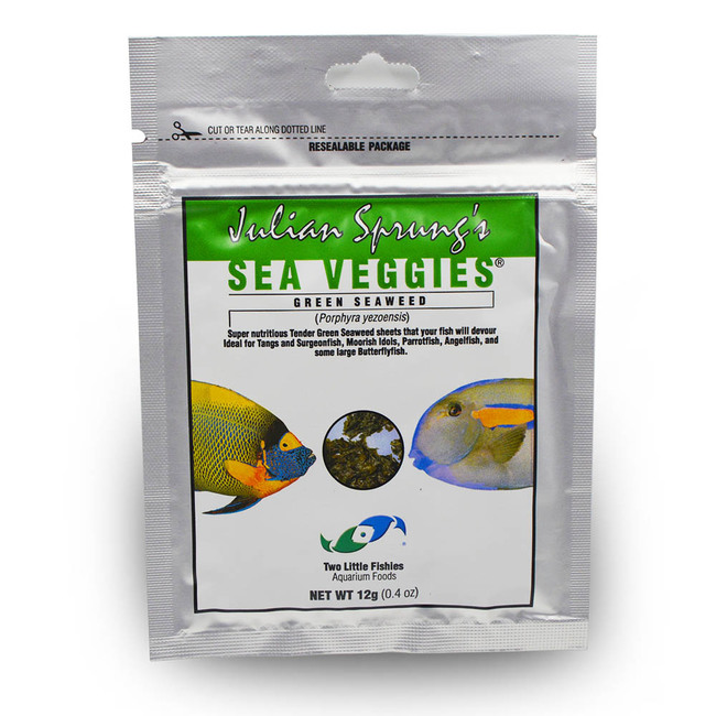 Two Little Fishies Julian Sprung's SeaVeggies Seaweed Pouch - Green - 12 g
