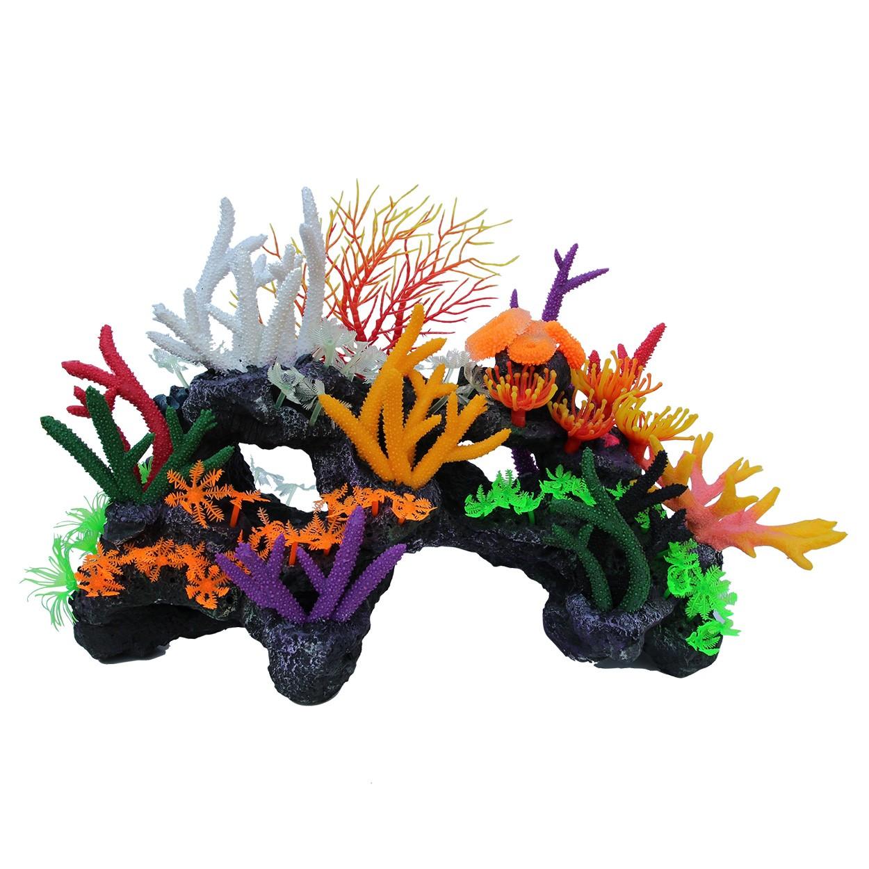 Underwater Treasures Coral Reef Paradise