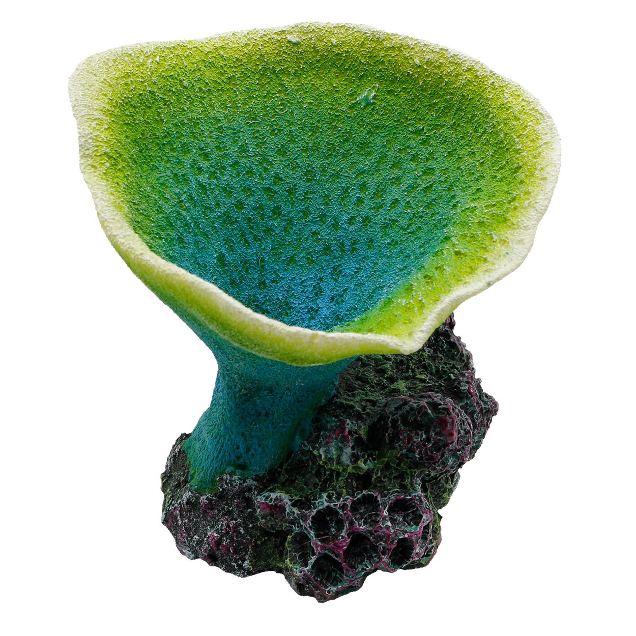 Underwater Treasures Elephant Ear Coral - Green