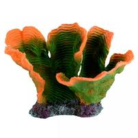 Underwater Treasures Plate Coral - Green/Orange