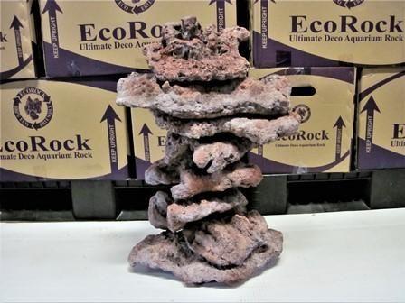 EcoRock Hand Made Aquarium Rock Premium Shelf - Free Shipping