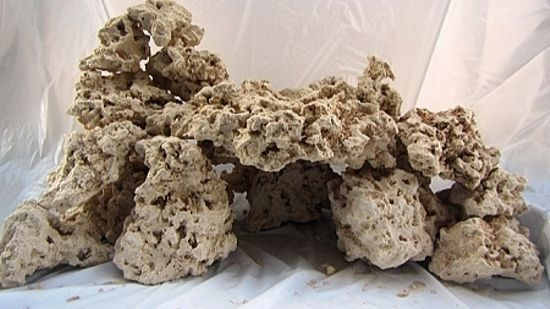 Reef Saver Dry Rock - 45 lb. box Best Live Rock Substitute - Free Shipping