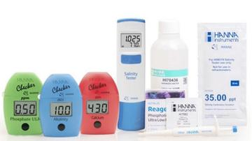 Hanna Instruments Professional Reef Test Kit for Calcium, Alkalinity, and Phosphate
