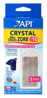 API Crystal Bio-Chem Zorb Cartridge for SuperClean 10 - 2 pk