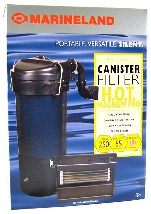 Marineland H.O.T. Magnum PRO Hang On Tank Canister Filter