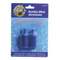 Underwater Treasures Bubble Mist Airstone - Cylindrical - 2 pk