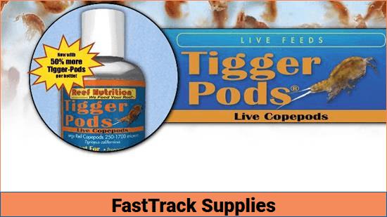 Reef Nutrition Tigger Pods LIVE 6oz