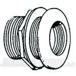 Lifegard Aquatics Standard Threaded Bulkhead - 1-1/2""