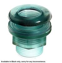 Lifegard Aquatics Standard Threaded Bulkhead - 1""