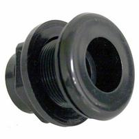 Lifegard Aquatics Slip Bulkhead Fitting - 1/2""