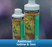 Additives - Iodine & Iron