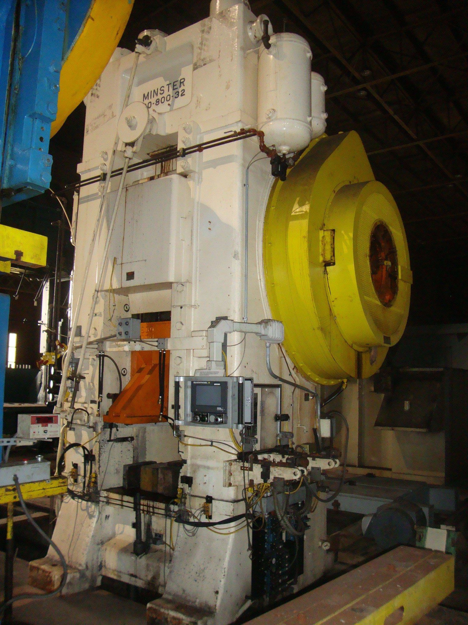800 Ton Minster Press - Knuckle Joint Metal Stamping Punch