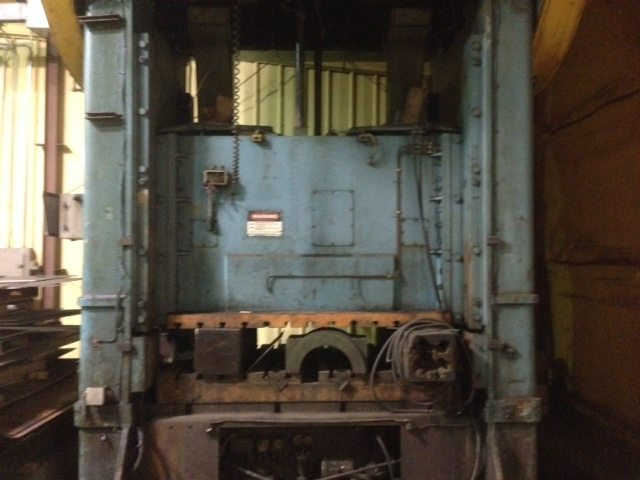 500 Ton Niagara Metal Stamping Punch Press For Sale | Call